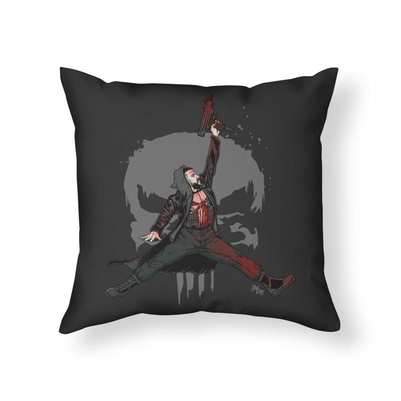 Air Castle Home Throw Pillow by Tripledead Shop