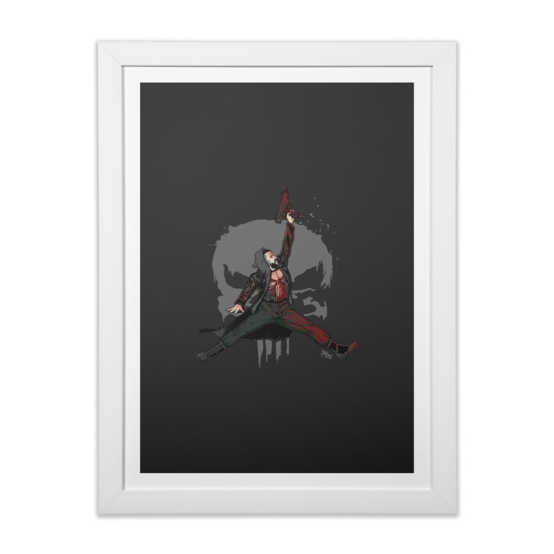 Air Castle Home Framed Fine Art Print by Tripledead Shop