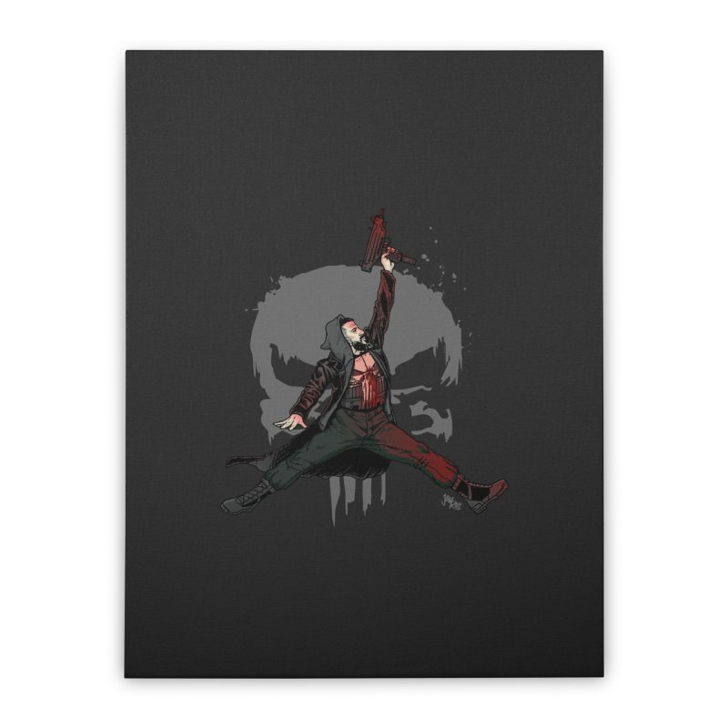 Air Castle Home Stretched Canvas by Tripledead Shop