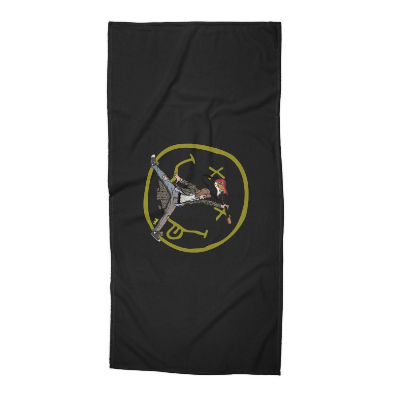 Air Cobain Accessories Beach Towel by Tripledead Shop