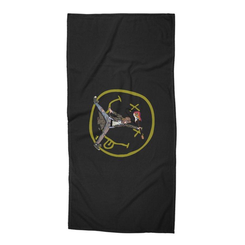 Air Cobain Accessories Beach Towel by Tripledead Shop