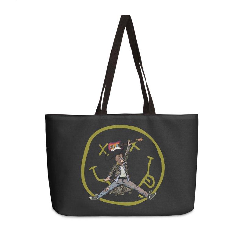 Air Cobain Accessories Weekender Bag Bag by Tripledead Shop
