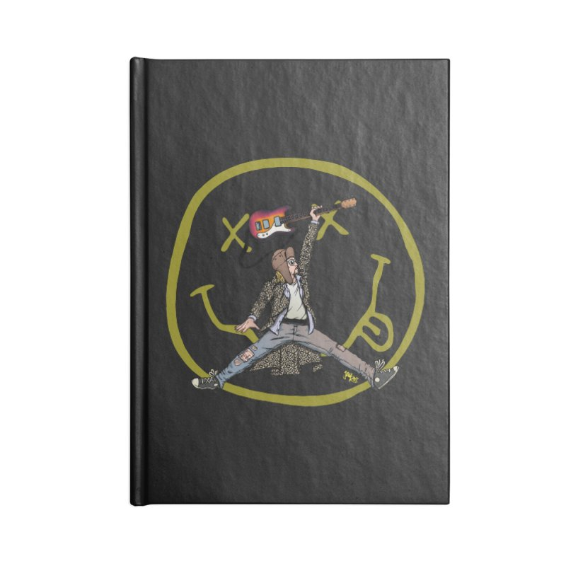 Air Cobain Accessories Lined Journal Notebook by Tripledead Shop