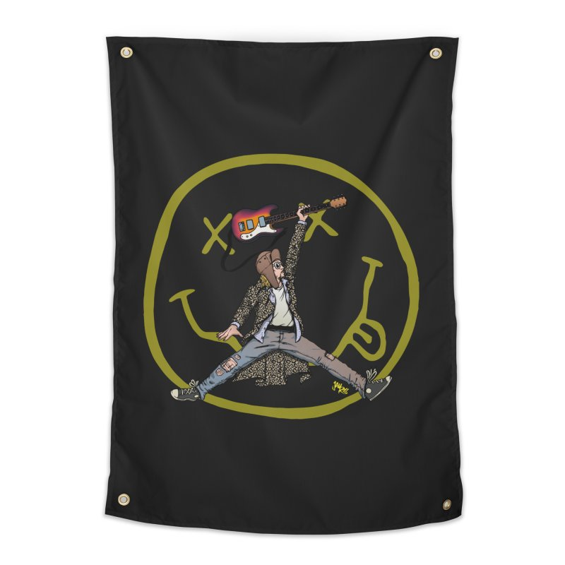 Air Cobain Home Tapestry by Tripledead Shop