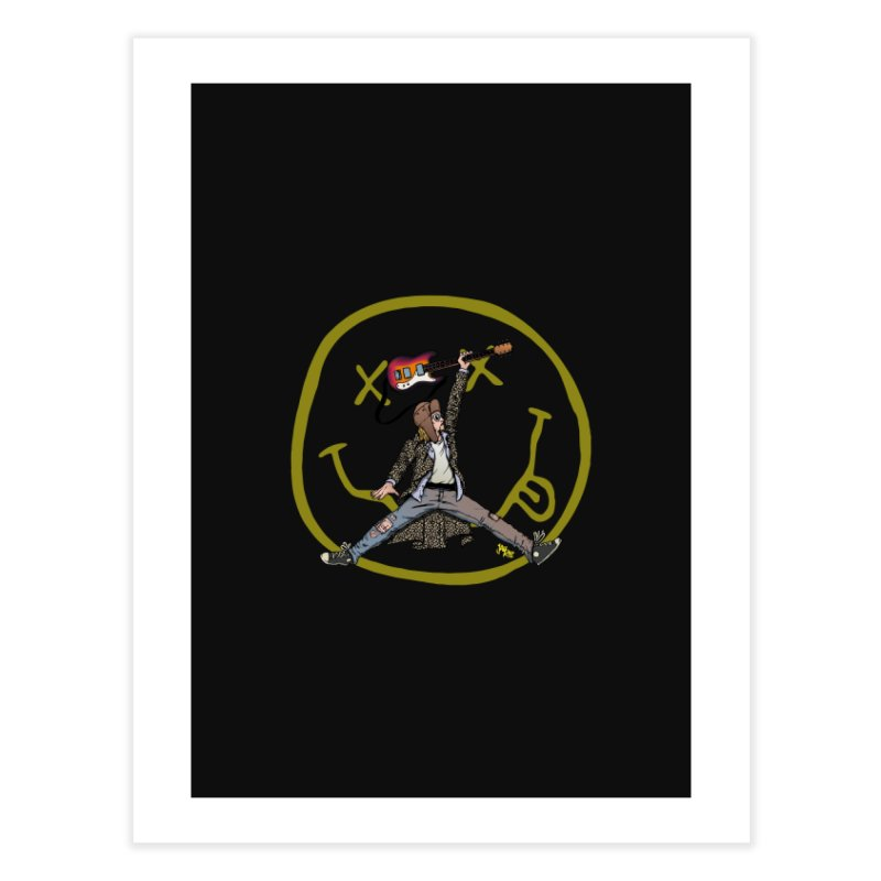 Air Cobain Home Fine Art Print by Tripledead Shop