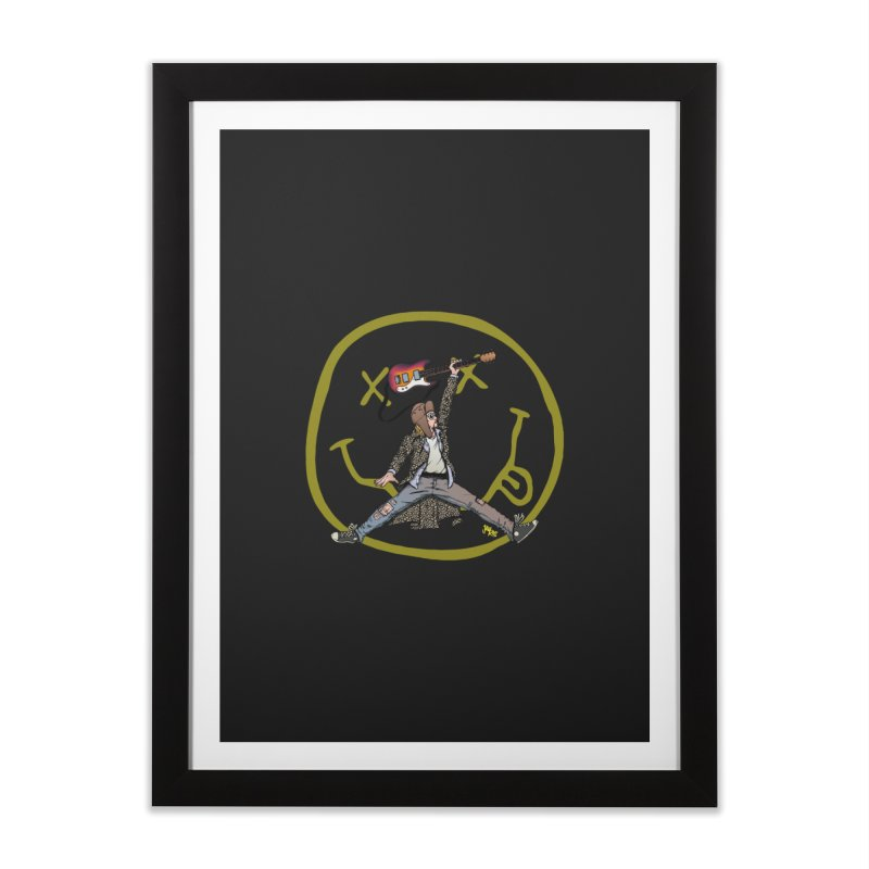 Air Cobain Home Framed Fine Art Print by Tripledead Shop