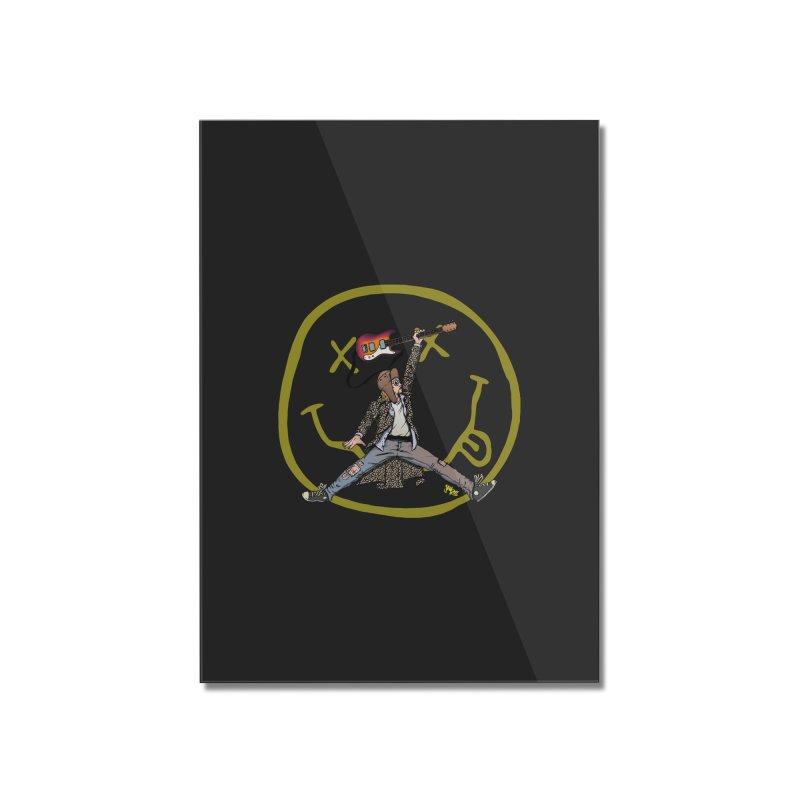 Air Cobain Home Mounted Acrylic Print by Tripledead Shop
