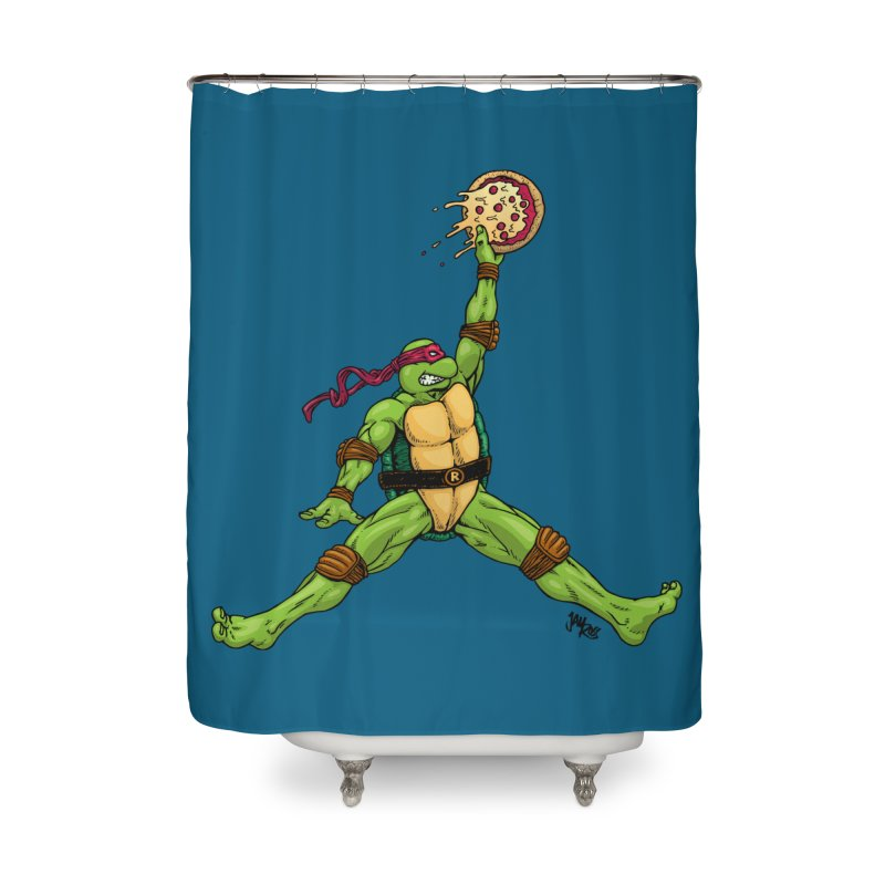 Air Raph Home Shower Curtain by Tripledead Shop