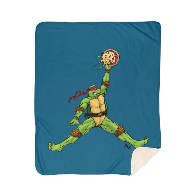Air Raph Home Sherpa Blanket Blanket by Tripledead Shop