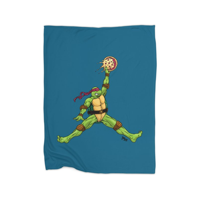 Air Raph Home Fleece Blanket Blanket by Tripledead Shop