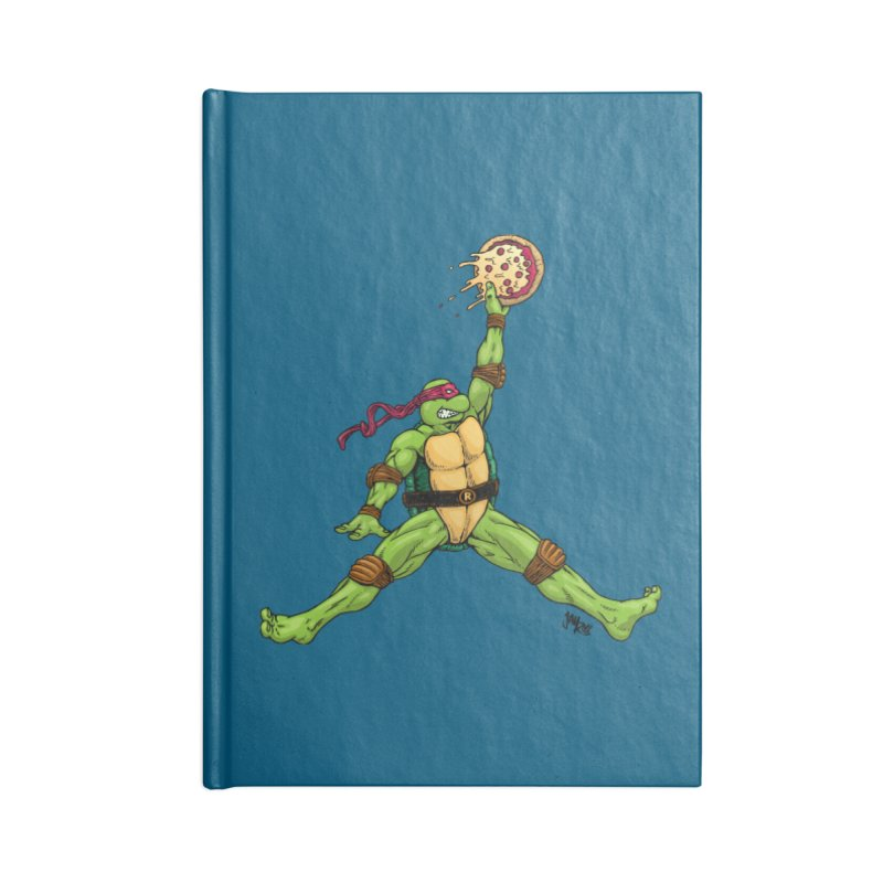 Air Raph Accessories Lined Journal Notebook by Tripledead Shop