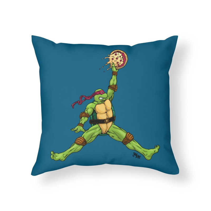 Air Raph Home Throw Pillow by Tripledead Shop