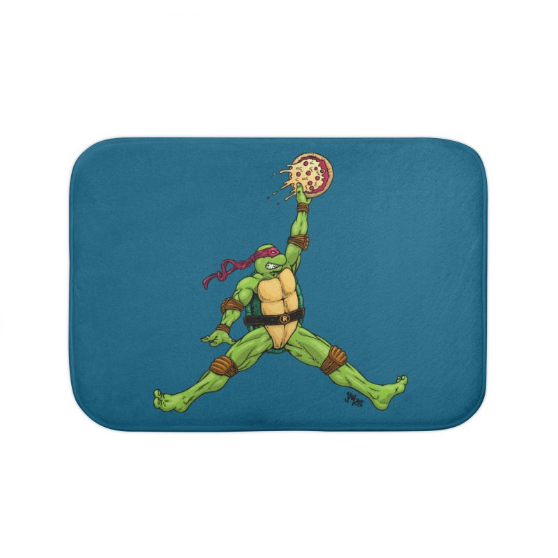 Air Raph Home Bath Mat by Tripledead Shop
