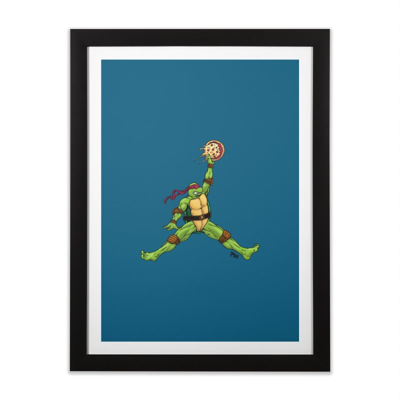 Air Raph Home Framed Fine Art Print by Tripledead Shop