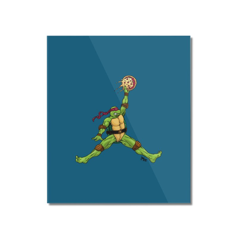 Air Raph Home Mounted Acrylic Print by Tripledead Shop
