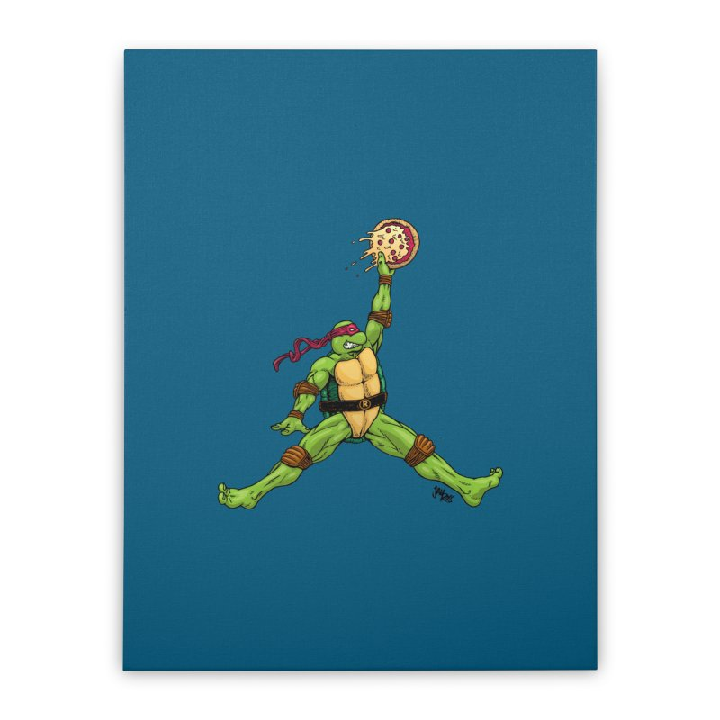 Air Raph Home Stretched Canvas by Tripledead Shop