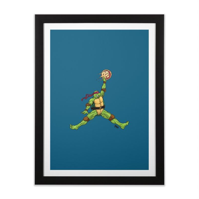 Air Raph Home Framed Fine Art Print by Tripledead Shop