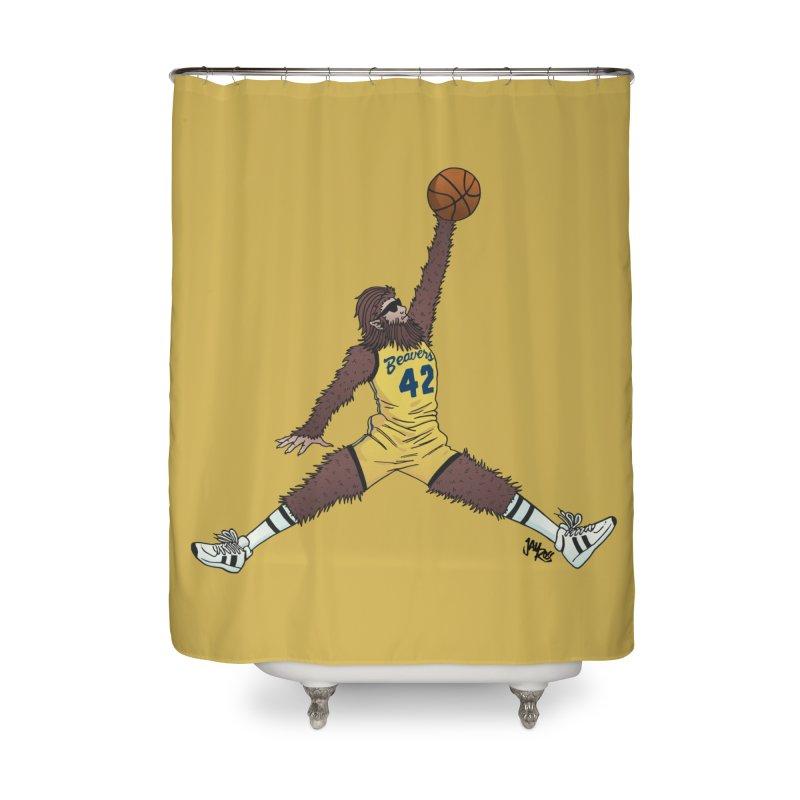 Air Wolf Home Shower Curtain by Tripledead Shop