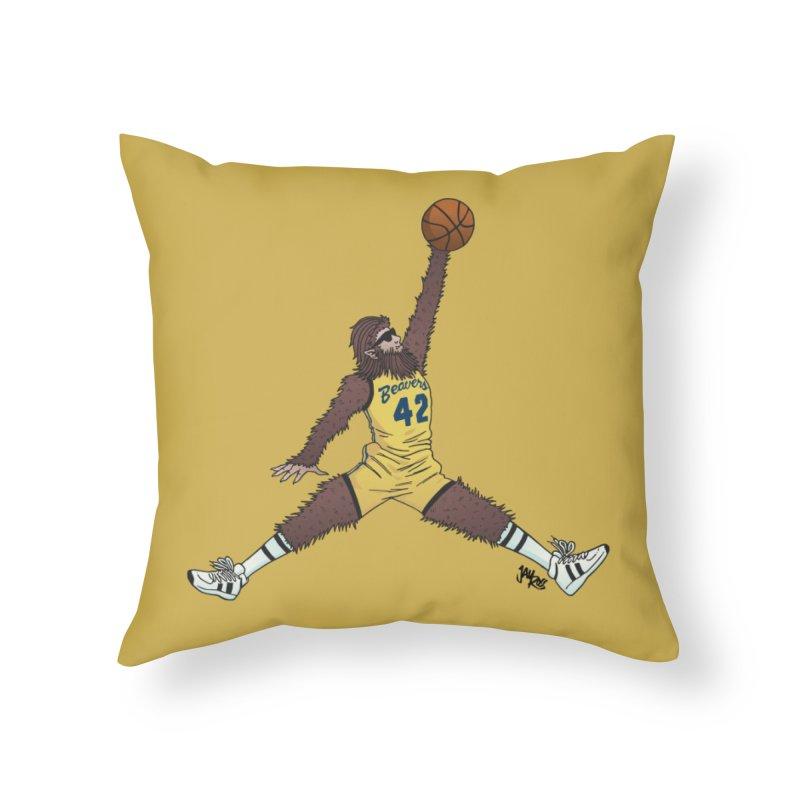Air Wolf Home Throw Pillow by Tripledead Shop