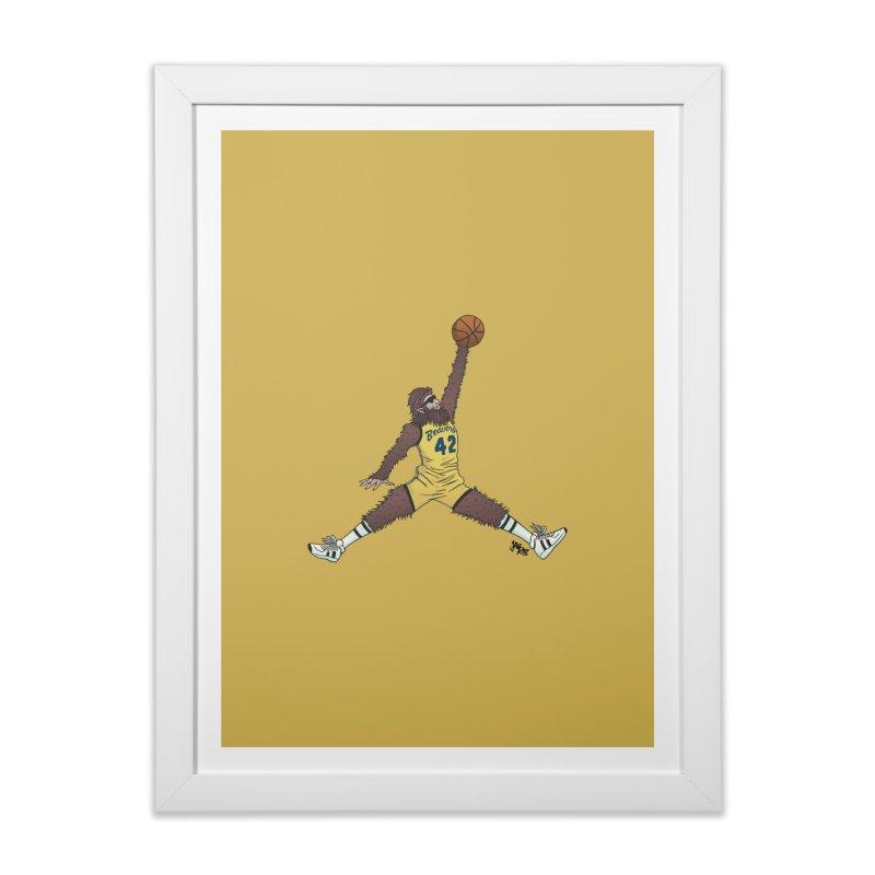 Air Wolf Home Framed Fine Art Print by Tripledead Shop