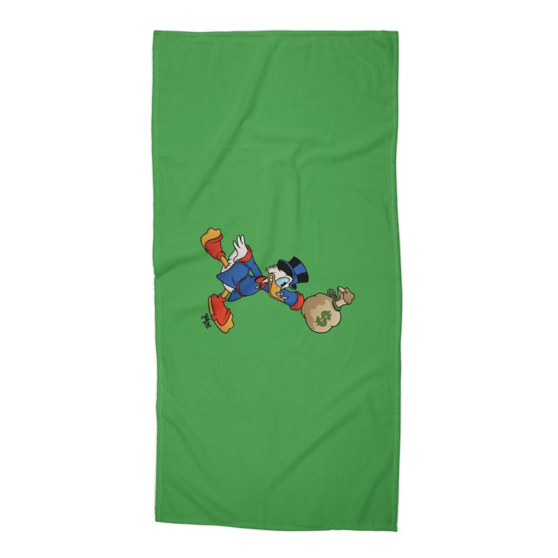 Air McDuck (full color) Accessories Beach Towel by Tripledead Shop