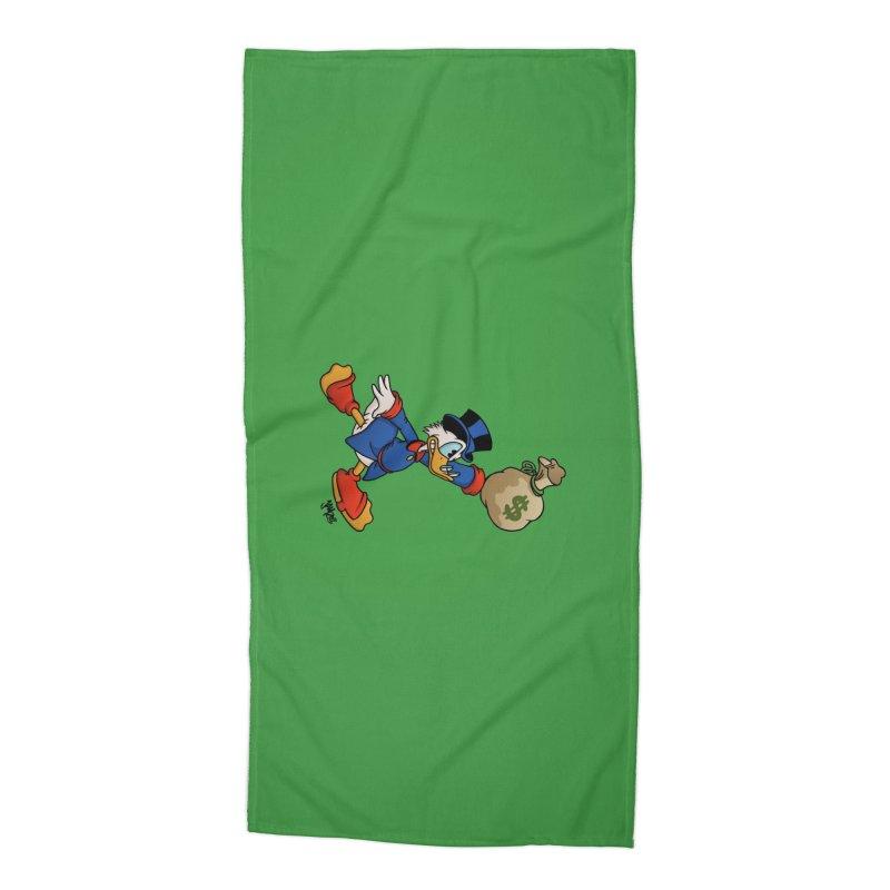 Air McDuck (full color) Accessories Beach Towel by Tripledead Shop