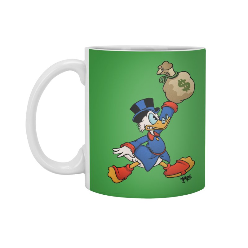 Air McDuck (full color) Accessories Standard Mug by Tripledead Shop
