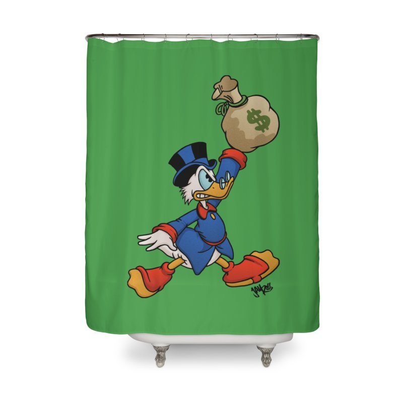 Air McDuck (full color) Home Shower Curtain by Tripledead Shop