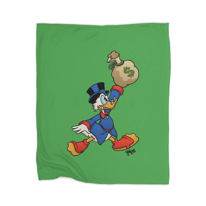 Air McDuck (full color) Home Blanket by Tripledead Shop