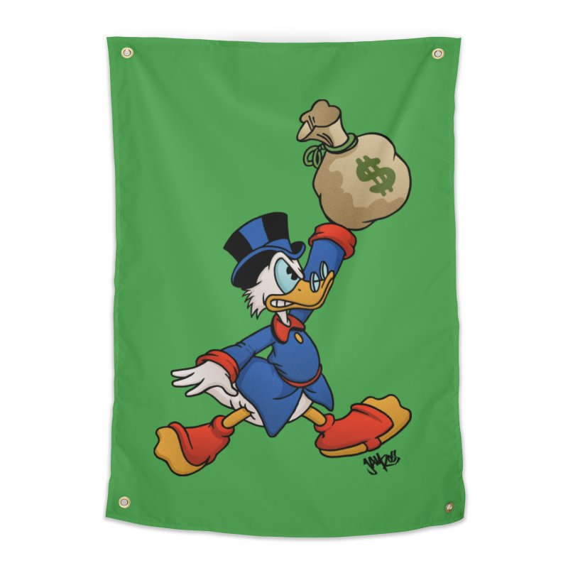 Air McDuck (full color) Home Tapestry by Tripledead Shop