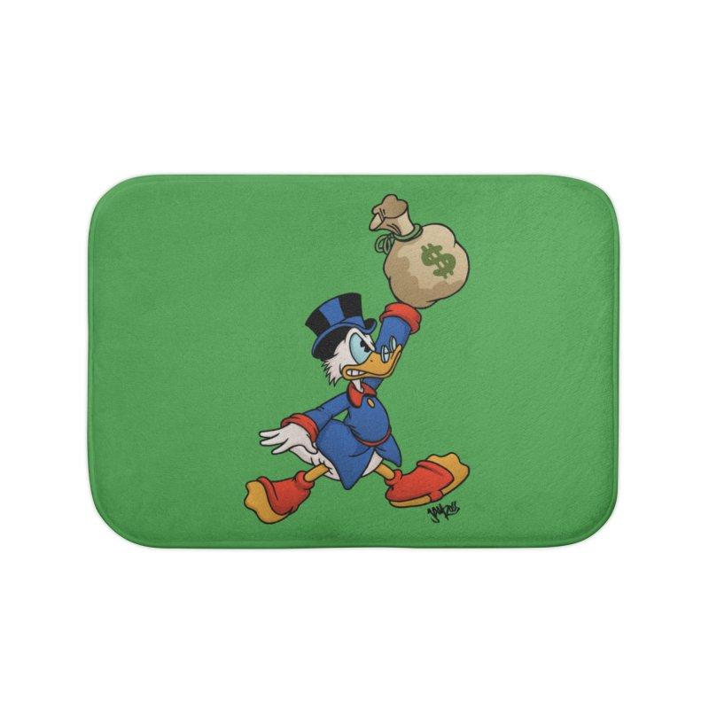 Air McDuck (full color) Home Bath Mat by Tripledead Shop