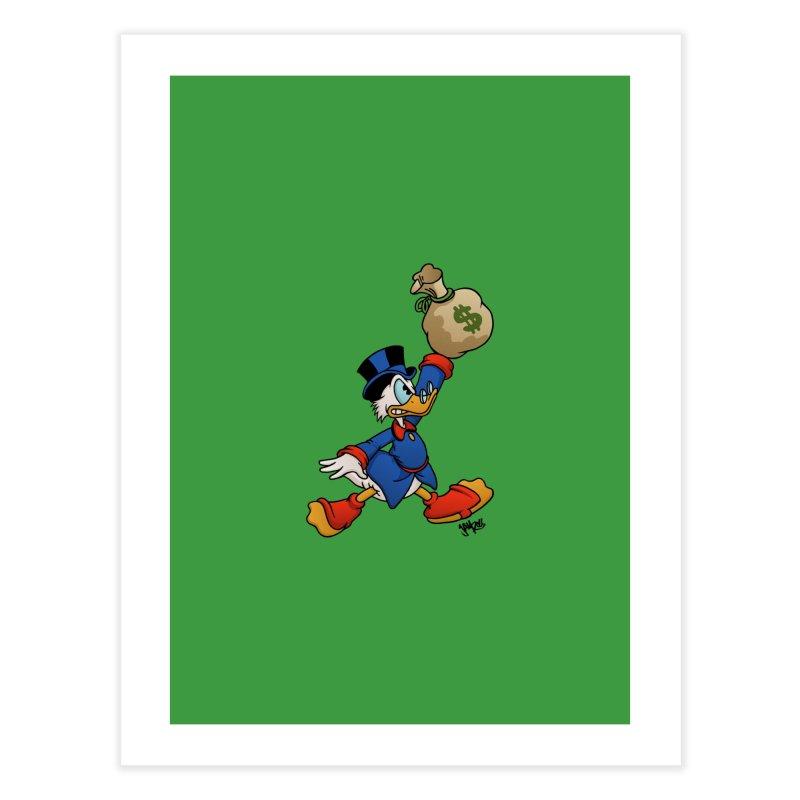 Air McDuck (full color) Home Fine Art Print by Tripledead Shop