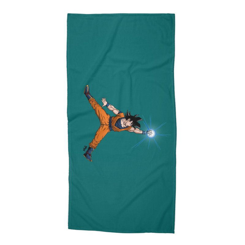 Air Goku Accessories Beach Towel by Tripledead Shop