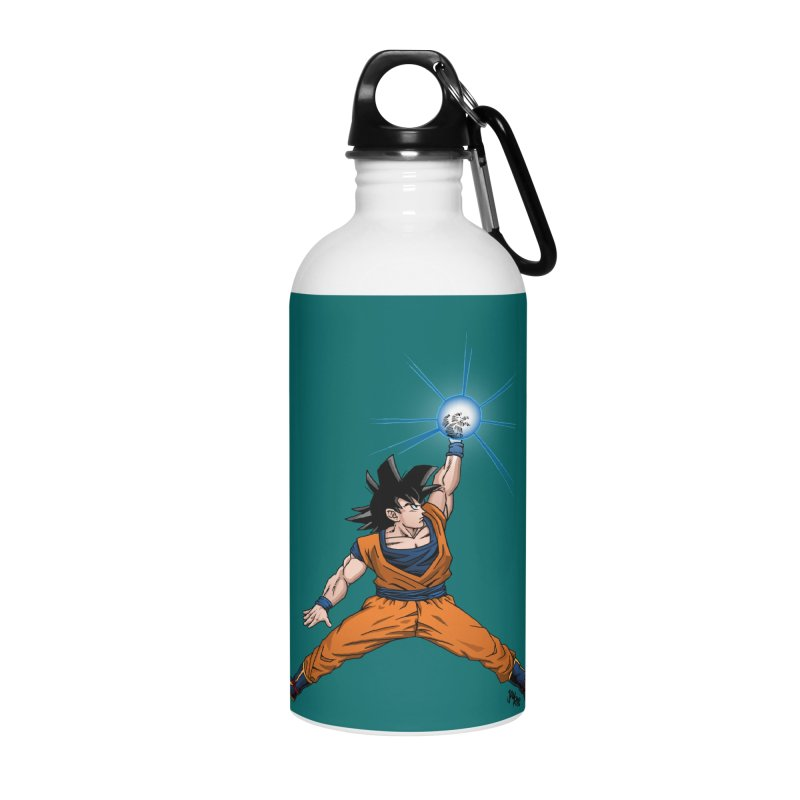 Air Goku Accessories Water Bottle by Tripledead Shop