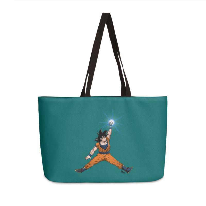 Air Goku Accessories Weekender Bag Bag by Tripledead Shop
