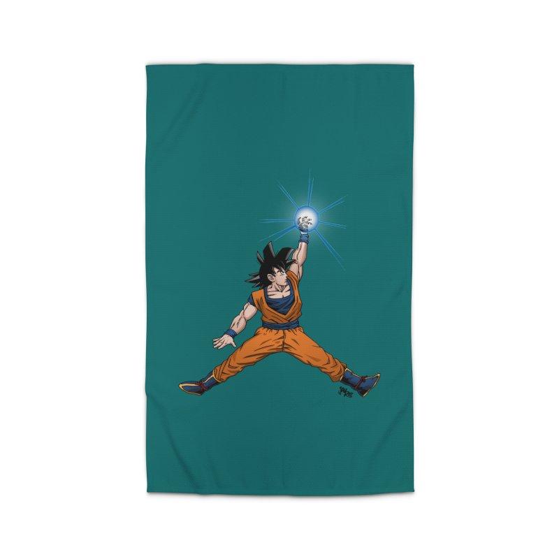 Air Goku Home Rug by Tripledead Shop