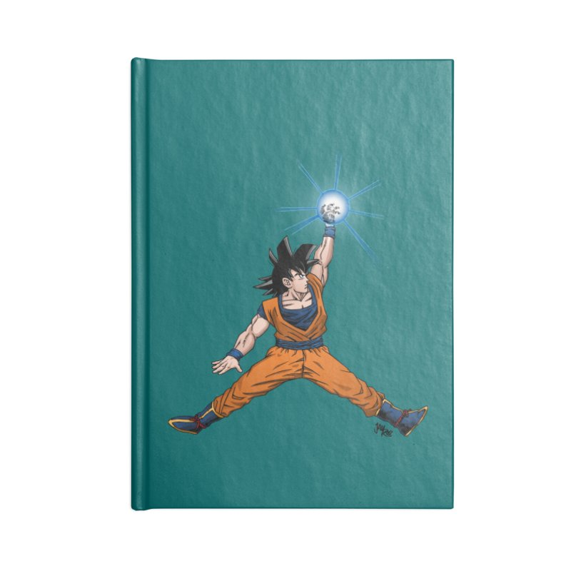 Air Goku Accessories Blank Journal Notebook by Tripledead Shop