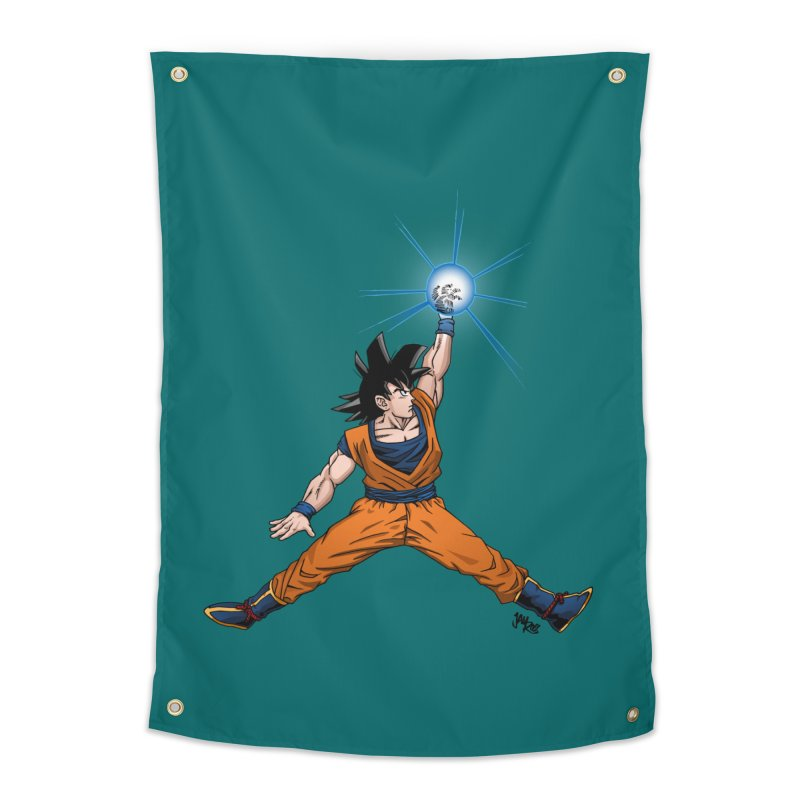 Air Goku Home Tapestry by Tripledead Shop