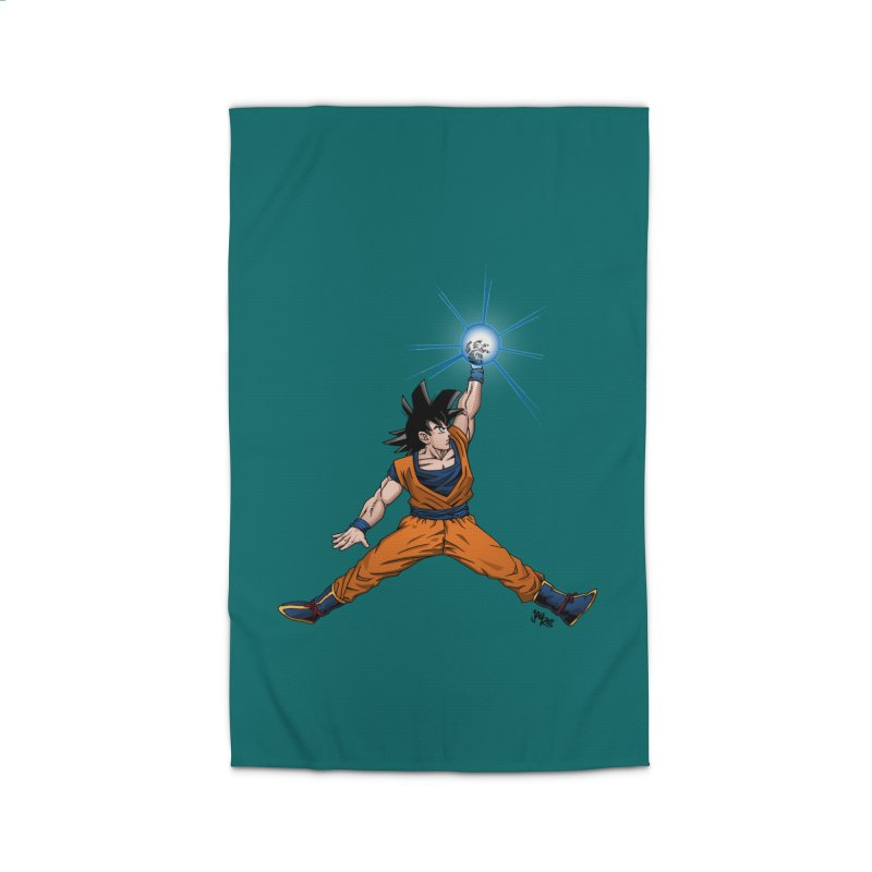Air Goku Home Rug by Tripledead Shop