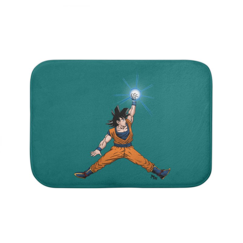 Air Goku Home Bath Mat by Tripledead Shop