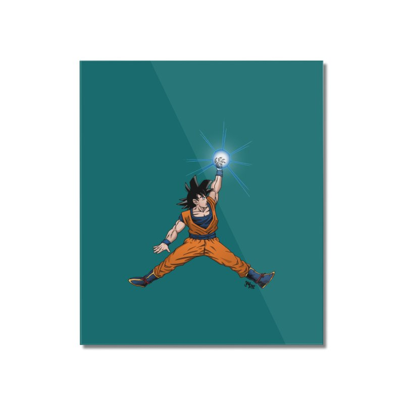 Air Goku Home Mounted Acrylic Print by Tripledead Shop