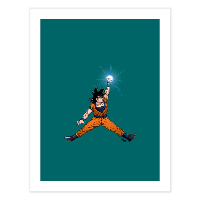Air Goku Home Fine Art Print by Tripledead Shop
