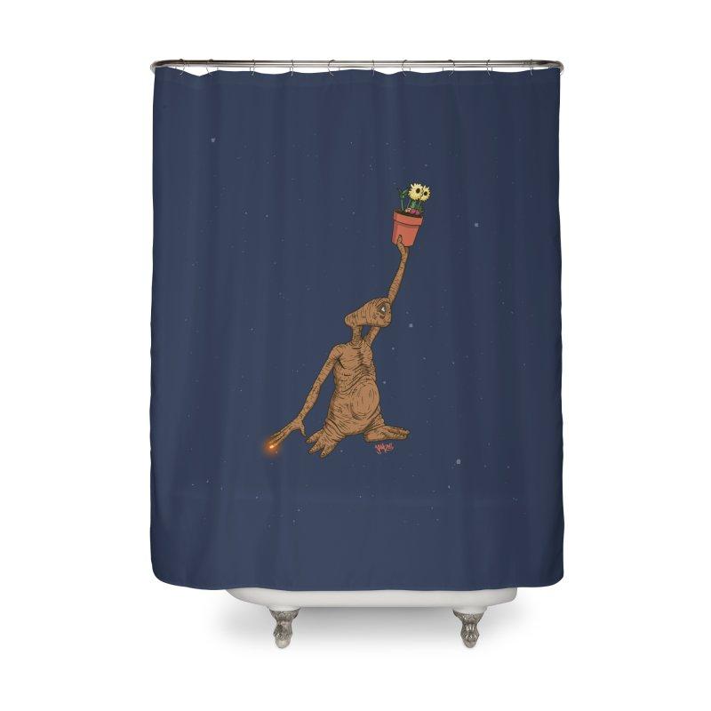 Air E.T. Home Shower Curtain by Tripledead Shop