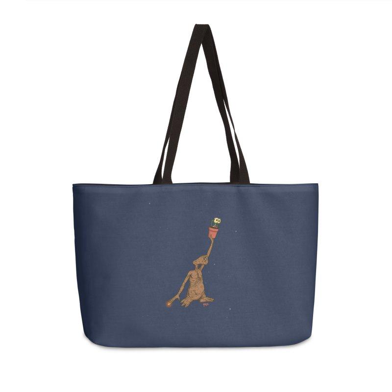 Air E.T. Accessories Weekender Bag Bag by Tripledead Shop