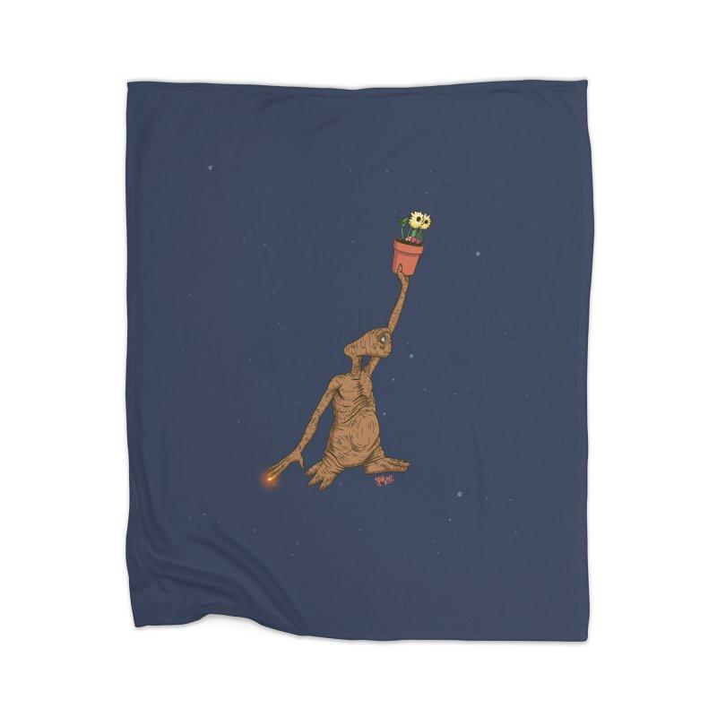 Air E.T. Home Blanket by Tripledead Shop