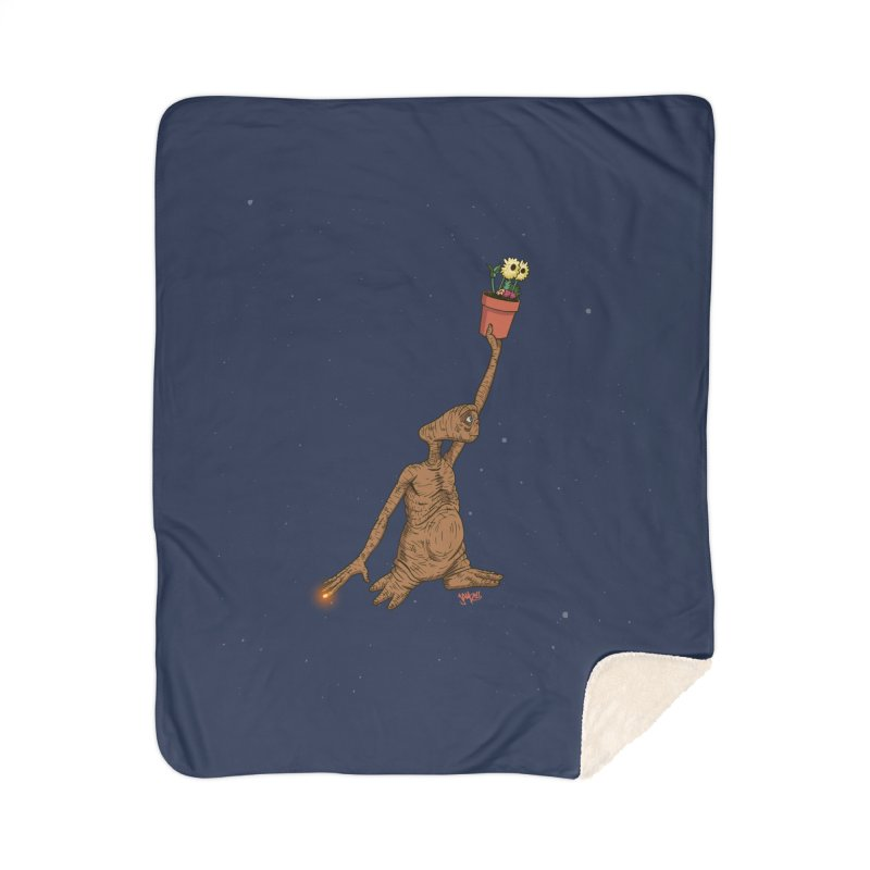 Air E.T. Home Sherpa Blanket Blanket by Tripledead Shop