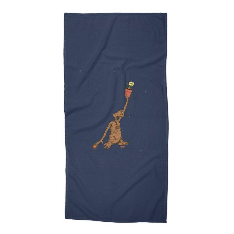 Air E.T. Accessories Beach Towel by Tripledead Shop