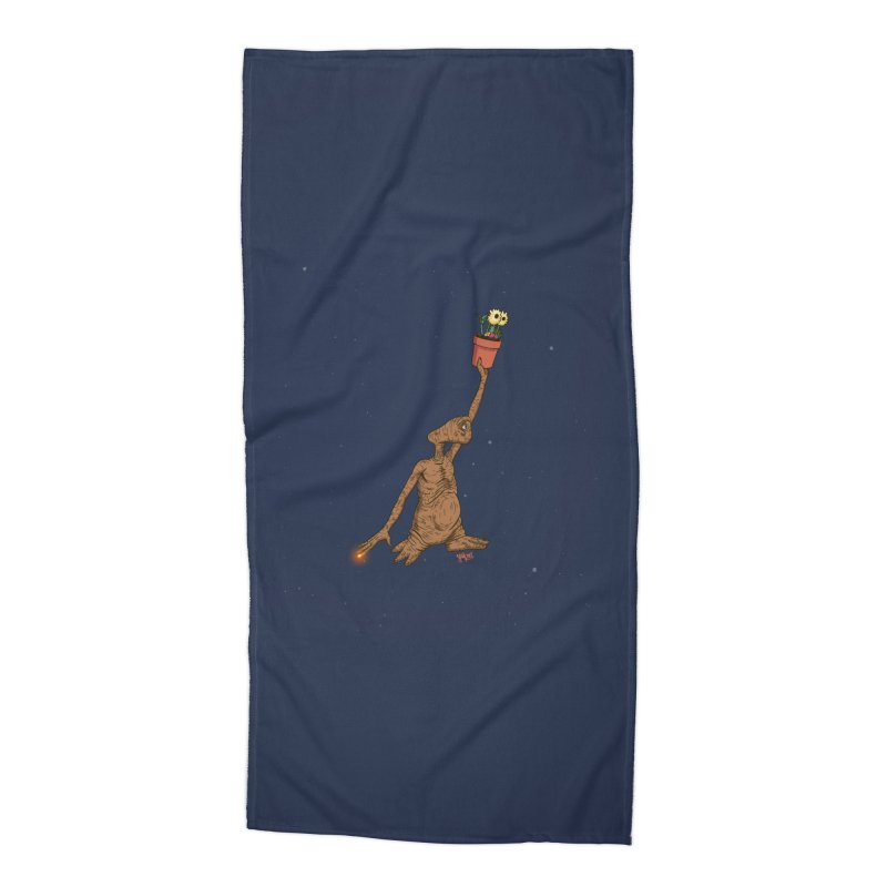 Air E.T. Accessories Beach Towel by Tripledead Shop