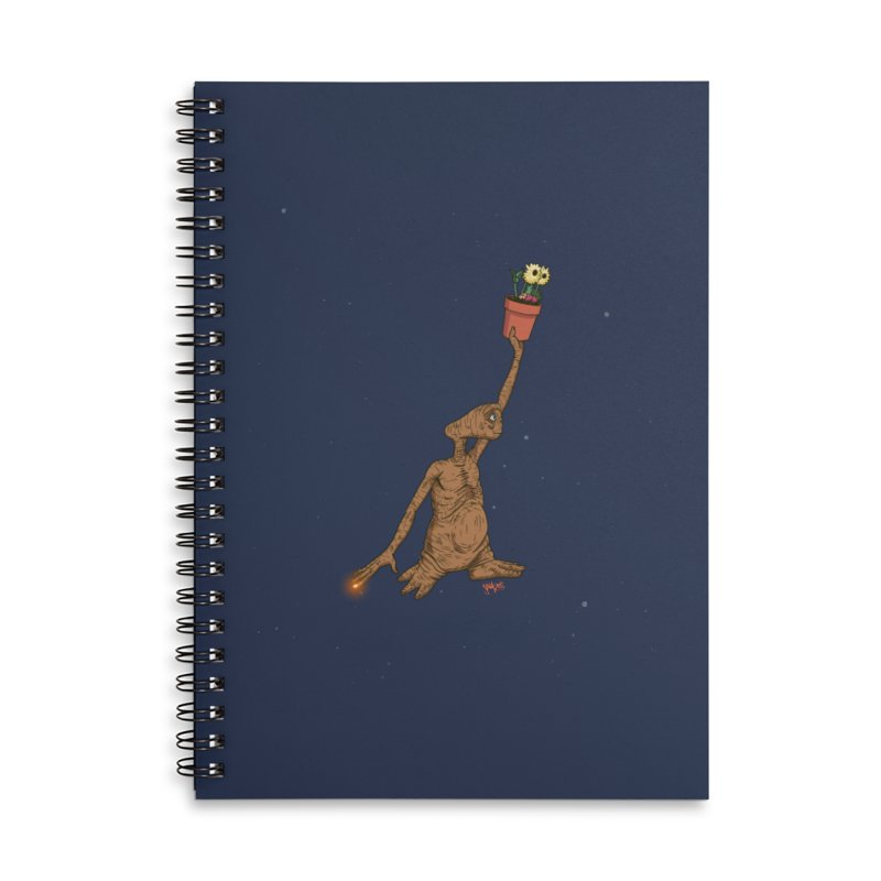 Air E.T. Accessories Lined Spiral Notebook by Tripledead Shop