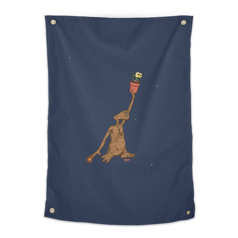 Air E.T. Home Tapestry by Tripledead Shop